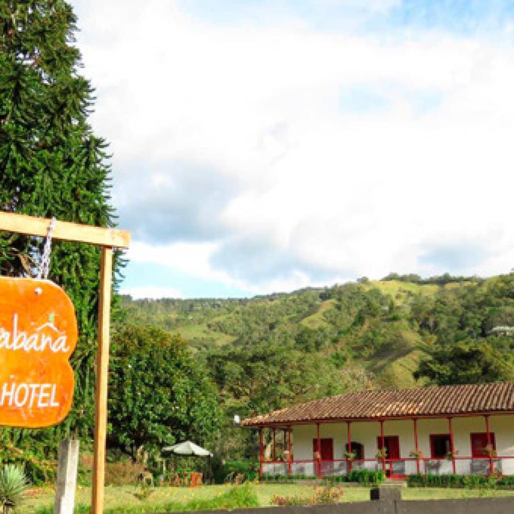 ecohotel la cabaña - mejores alojamientos valle de cocora Quindío