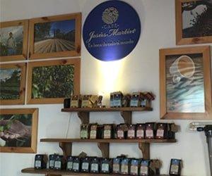 Local del Café Jesús Martín en Salento Quindío