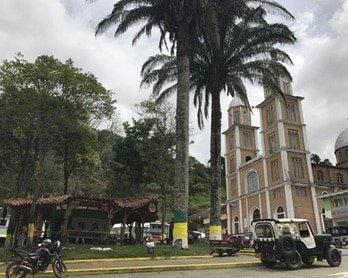 Plaza de Bolivar de Génova-Quindío
