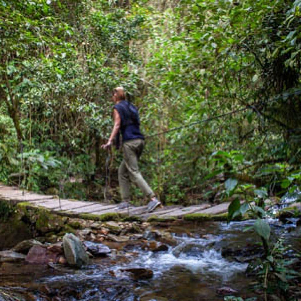 rutas de trekking cocora