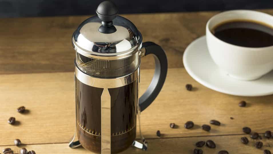 cafe con prensa francesa