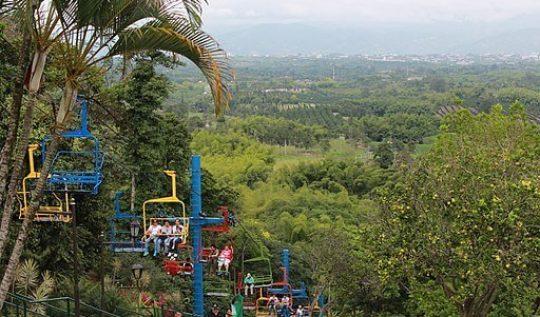 Telesillas parque del cafe colombia