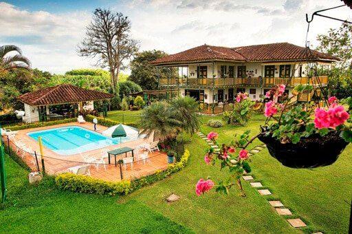 finca hotel el palmar mejores alojamientos montenegro cerca del parque del cafe